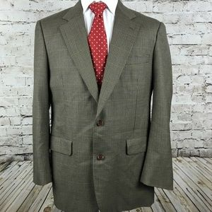 Brooks Brothers Two Button Sport Coat Size 43L